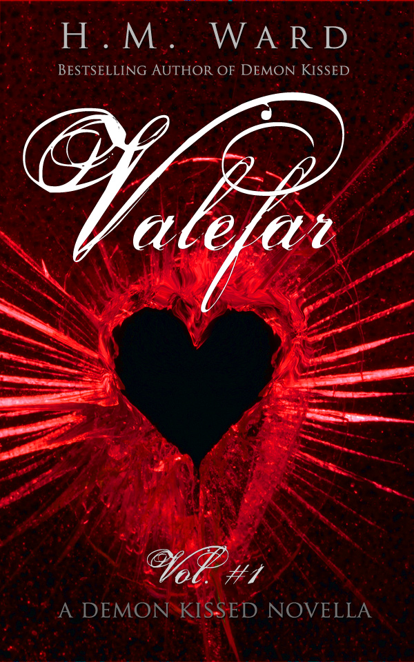 valefar, demon kissed, hm ward, ya paranormal romance, vampires
