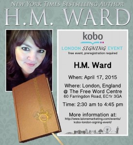 kobo signing event london 2015